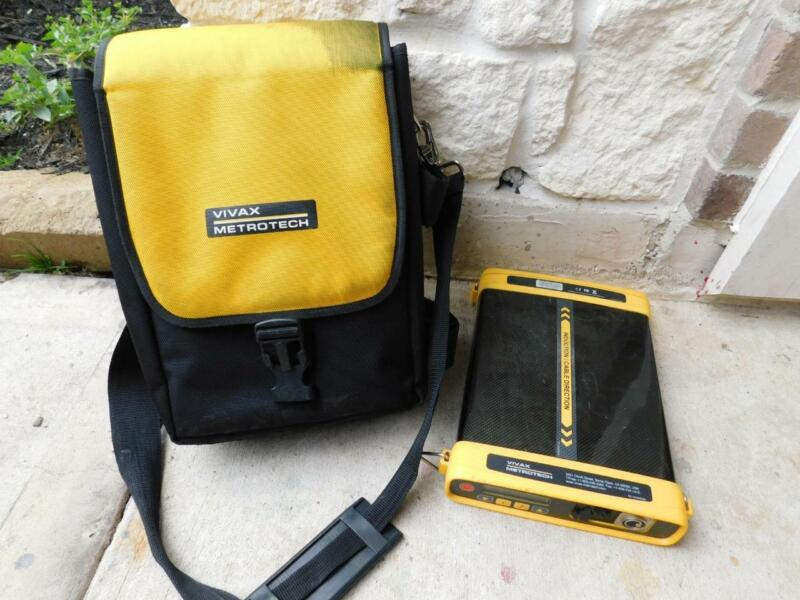 METROTECH VIVAX VX205-2 TRANSMITTER CABLE AND PIPE LOCATOR