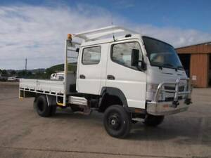 2013 Fuso Canter FG 4x4 Dual Cab Tray South Murwillumbah Tweed Heads Area Preview