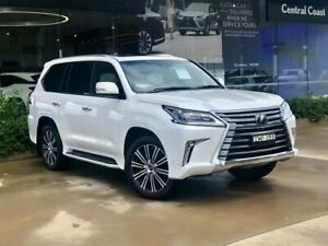 2019 Lexus LX URJ201R LX570 White 8 Speed Sports Automatic Wagon Somersby Gosford Area Preview