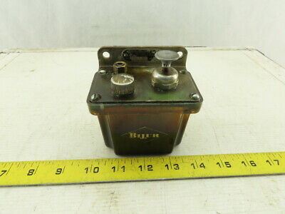 Bijur L2p 200cc Miniature Automatic Manual One Shot Lubricator