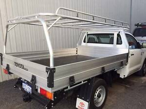 Custom aluminium roof racks and canopies Henderson Cockburn Area Preview