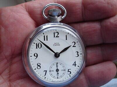 "Excellent rebuilt 1960, Smiths ""Empire"" Pocket Watch."