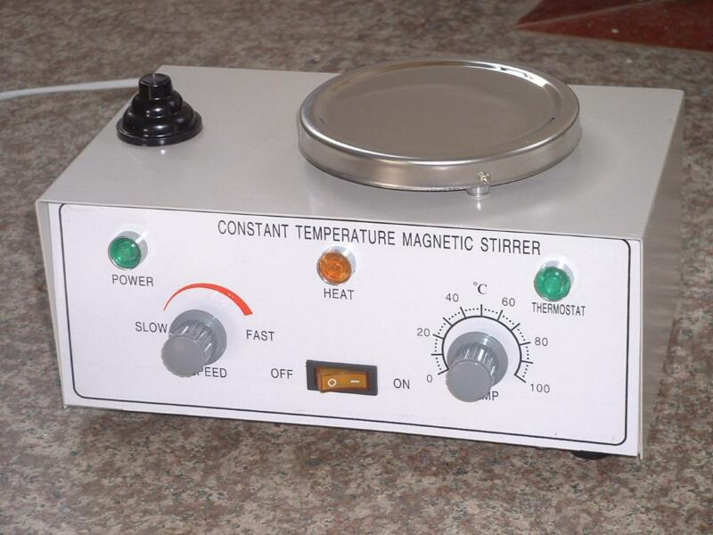 40W Constant Temperature Magnetic Stirrer With Stainless Steel Hotplate