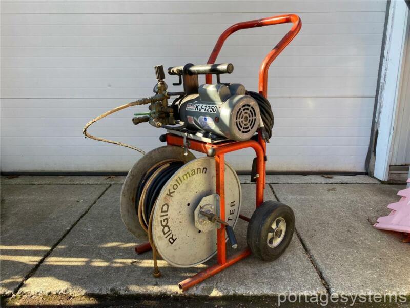 RIDGID // Kollmann KJ-1250W Water Jetter - Sewer Cleaner