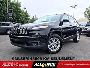 2016 Jeep Cherokee NORTH 93$/SEM CUIR,4X4,V6,CAMERA RECUL,IMPECC
