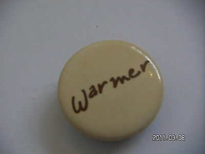 WARMER BEARSVILLE RECORDS PICTURE BADGE