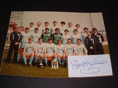 VERY RARE FORFAR ATHLETIC FC 1983-84 CHAMPIONS PHOTO STEWART KENNEDY HAND SIGNED