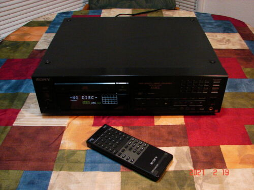 1990 Sony CDP-X33ES Audiophile Quality Stereo Component CD Compact Disc Player