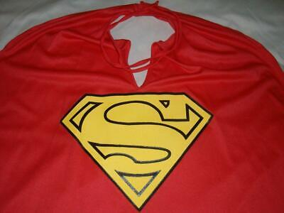 Superman Man Steel Returns Cape Only 29in Long Halloween Cosplay Youth Small