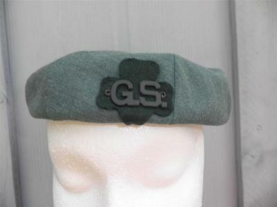 1948 -1968 Girl Scout ADULT Uniform PILLBOX HAT SMALL Scouts Halloween Costume - Girl Scout Uniform Costume
