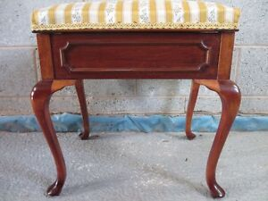 Lovely-Edwardian-Mahogany-dressing-stool-with-lift-up-upholstered-lid-ref-1331