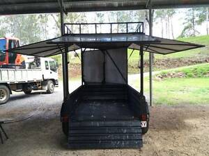H/DUTY 8X5 DUAL AXLE BOX TRAILER - REGO June 2017 Palmwoods Maroochydore Area Preview