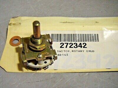 Crl Rotary Switch Spdt Ceramic 2 Position 1.29 Diameter Base