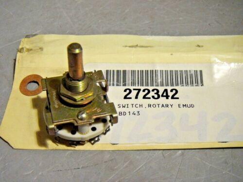 """CRL Rotary Switch SPDT Ceramic 2 Position 1.29"""" Diameter Base"""