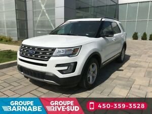 2017 Ford Explorer XLT TURBO AWD CUIR NAVIGATION *NO CARPROOF*