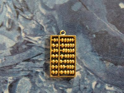 Vintage 14K Gold Movable Chinese Abacus 3D Charm – Nice!