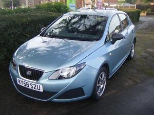 2008 Seat Ibiza 1.2 S 5dr 5 door Hatchback