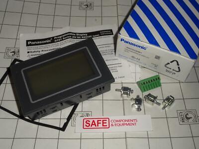 Nais Panasonic Aigt0030b1 3 Lcd Touch Screen Gt-01 Monochrome 5vdc Rs232 P43-12