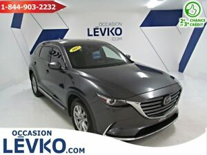2017 Mazda CX-9 SIGNATURE AWD **CUIR + 7 PASSAGERS**