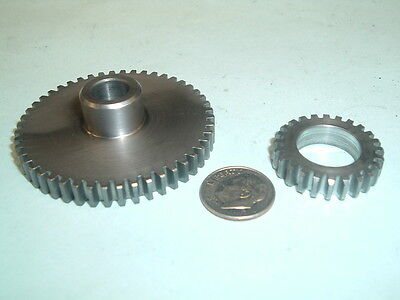 Model Hit And Miss Gasoline Engine Steel Timing Gear Set 24-48 Teeth