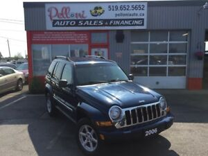 2006 Jeep Liberty LIMITED|4X4|NO ACCIDENTS