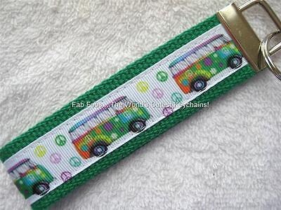Retro-van (GROOVY RETRO VAN-PEACE/LOVE Key Fobs (really cute keychains))