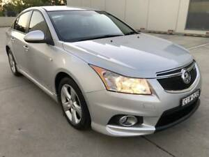 HOLDEN CRUZE SRI-V 2012 TURBO MANUAL SAT NAV 124000K LEATHER VERY NEAT Castle Hill The Hills District Preview
