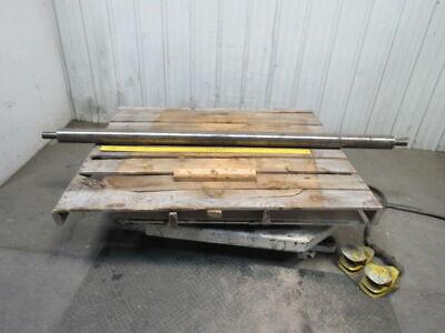 Dematic 3-34 Dia X 79 Face Width Conveyor Belt Drum Pulley 1-1116 Shaft