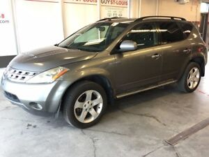 2005 Nissan Murano SL TRANSMISSION  DÉFECT DEFECT TRANSMISSION