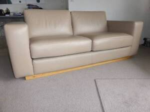 """""""Just Leather"""" 3.5 Seater & 2.5 Seater Sofas """"As New"""" Hobart CBD Hobart City Preview"""