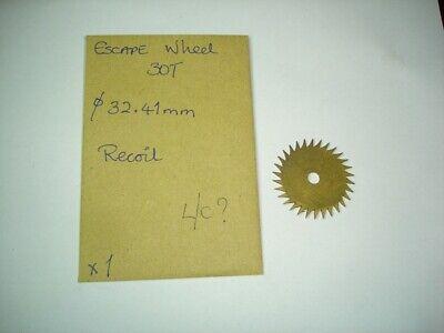Clock Longcase Escape Wheel
