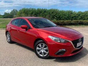 2014 Mazda 3 BM5478 Neo SKYACTIV-Drive Red 6 Speed Sports Automatic Hatchback Garbutt Townsville City Preview