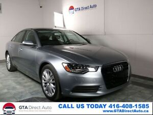 2014 Audi A6 3.0L TDI Technik AWD NAV Sunroof 360CAM Certified