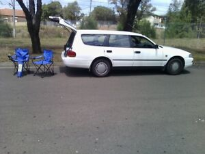 Toyota wagon.long nsw rego,camping stuf,perfect for travelers