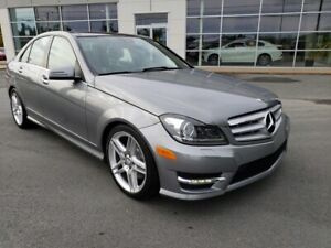 2013 Mercedes-Benz C-Class. AMG pac. Navi, Pano roof. 1 owner.