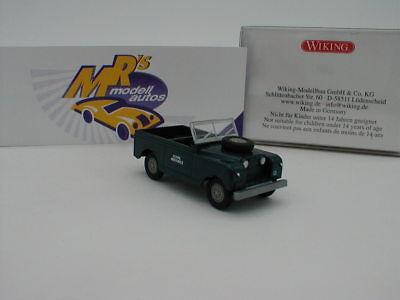 Neuheiten Air (Wiking 0100 04 - Land Rover Cabrio Baujahr 1958