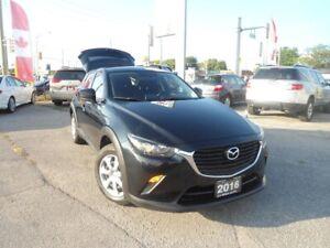 2016 Mazda CX-3 AUTO NAV B-TOOTH FACTORY WARRANTY  BACKUP CAM A/