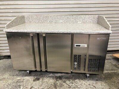 60 Granite Top Refrigerator Work Top Cooler Food Prep Infrico Mpg1490 New 2056