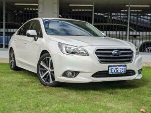 2015 Subaru Liberty B6 MY15 2.5i CVT AWD Premium White 6 Speed Constant Variable Sedan Victoria Park Victoria Park Area Preview