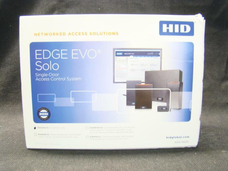 HID EDGE EVO SINGLE DOOR ACCESS CONTROL SYSTEM ESH400-K - NEW