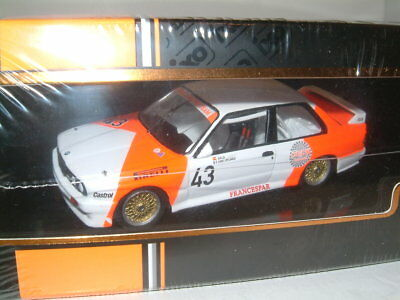 1/43 IXO BMW M3 E30 1987 WTCC #43 SALA/GROUILLARD `MARLBORO` INC DECALS #GTM127
