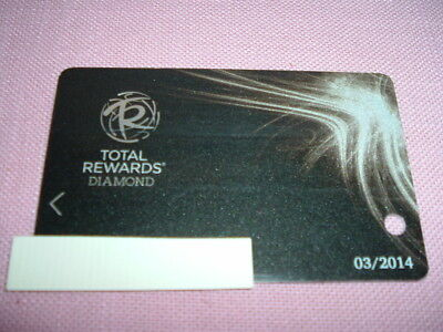 Caesars Entertainment Total Rewards Diamond Players Club Slot Card Vegas