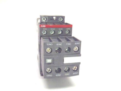 ABB NFZ62E-21 Contactor Relay 24-250V Coil 24-60V 50/60Hz 20-60VDC