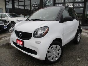 2016 Smart fortwo CPE-ONE OWNER