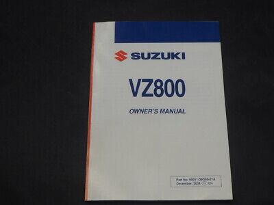 SUZUKI VZ800 K5 2005 OWNER'S OWNER MANUAL 99011-39G50