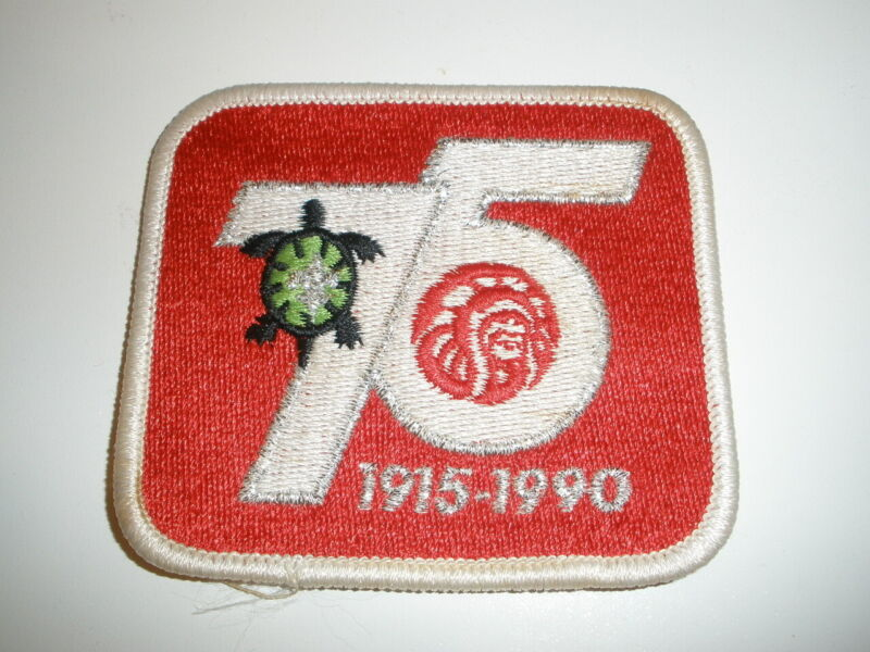 OA 75th Anniversary patch; national issue in 1990