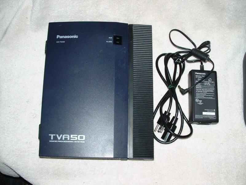 KX-TVA50 VOICEMAIL 2 PORT 4 HR for ta624/ta824/tda50/tda100/tda200/td1232/td816