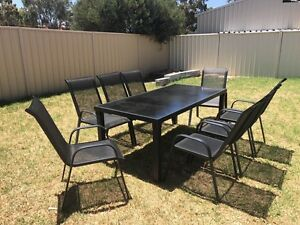 6 or 8 seats outdoor dining set Maddington Gosnells Area Preview