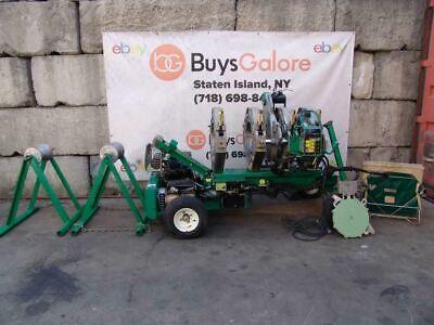 Mcelroy 618 Pipe Fusion Machine Welder Gas Motor Shaver Heating Iron Works Fine