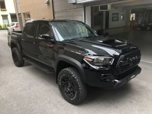2018 Toyota Tacoma Double Cab TRD PRO + $6500 equipements